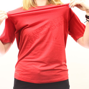 Womens_Red_T-Shirt_Stretched
