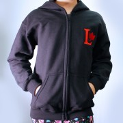 Youth Zip Up_Black